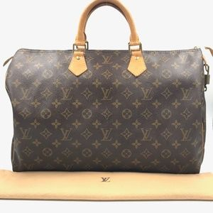 Authentic Louis Vuitton Monogram Speedy 40